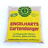 1 kg Engelharts Gartendünger: organischer Dünger | Naturdünger | Universaler Pflanzendünger mit Langzeitwirkung | Universaldünger | Dünger mit Hornmehl