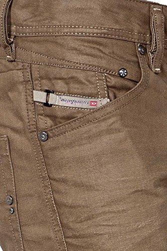 Diesel Herren Jeans M 5 pockets DC 00S606 0816N BELTHER PANTALO, Farbe: Braun Braun