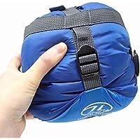 Highlander Trekker Superlite 1-2 Season Lightweight Sleeping Bag, Ultralite Backpacking Travel Mummy Bag