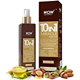 #3: Wow 10 In 1 Miracle Hair Oil -- No Mineral Oils & Parabens - Cold Pressed -200Ml