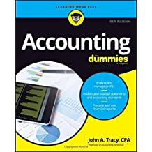 Accounting For Dummies by John A. Tracy (2016-06-27)