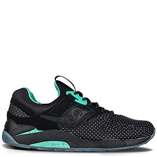 SAUCONY ORIGINALS - Grid 9000 Dots, Scarpe sportive Unisex – Adulto Black