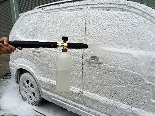 L-DiscountStore Auto Wasch DruckReiniger Jet Wash 1/4 SchnellAuslöser Verstellbare Schnee Schaum Lance Schaum Kanonen Schaum Blaster