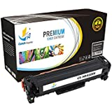 CatchSupplies reemplazo CE410X Cartucho de tóner Negro de Alto Rendimiento para la serie HP 305X | 4.000 rendimiento | compatible con el Pro 300 color de HP LaserJet M351a, M375nw, de color Pro 400 M451, M475