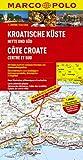 MARCO POLO Karte Kroatische Küste, Mitte und Süd 1:200.000 (MARCO POLO Karten 1:200.000) - Polo Marco