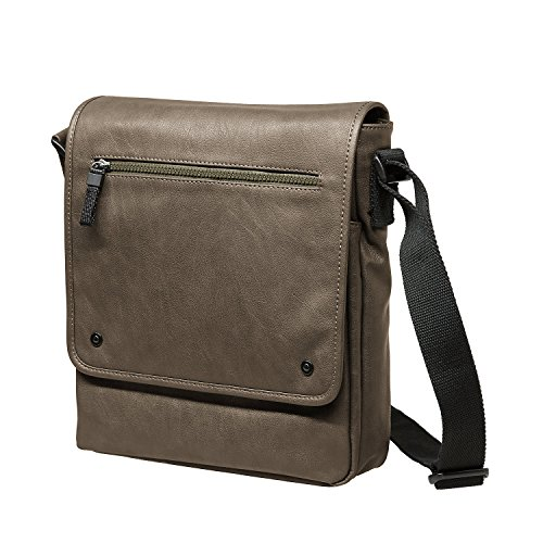 Jost Messenger Bag M Cult Black [8] Nero Marrone|Verde