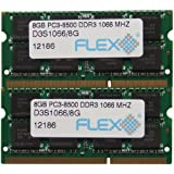 16GB kit (8GBx2), 204-pin SODIMM, DDR3 PC3-8500 memory module ( for Mac )