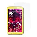 atFolix Samsung Galaxy Tab 3 Kids (SM-T2105) Glasfolie - FX-Hybrid-Glass Elastische 9H Kunststoff Panzerglasfolie - Besser als Echtglas Panzerfolie
