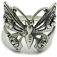 Elegante anello in argento 925 Farfalla R000214 Empress