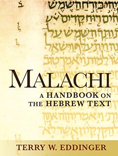 Malachi: A Handbook on the Hebrew Text (Baylor Handbook on the Hebrew Bible) (English Edition)
