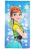 """Die besten Disney Handtücher Bäder - Disney Frozen Die Eiskönigin Strandtuch/Badetuch """"Anna"""", Art. 2884 Bewertungen"""
