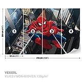FORWALL Marvel Spider-Man Vlies Fototapete Tapete Vliestapete Dekoshop AD265VEXXXL (416cm x 254cm) Photo Wallpaper Mural