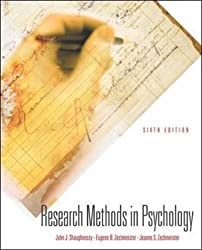 Research Methods in Psychology (Mcgraw-Hill International Editions: Psychology Series) by John J. Shaughnessy (2002-08-01)