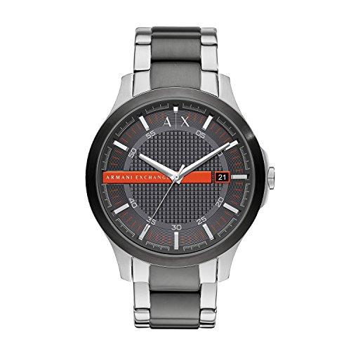 Armani Exchange Reloj Analogico para Hombre de Cuarzo con Correa en Acero Inoxidable AX2404
