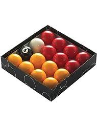 Powerglide Rouge et Jaune Boules de billard-toutes les tailles standard (16pièces)