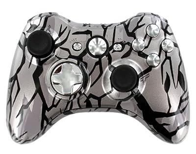 Grey Camo Xbox 360 Controller