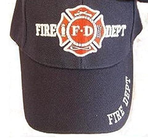 Navy Blue Fd Fire Department Hat Dept Firemen Fdny Ball Baseball Cap by Sport Cap