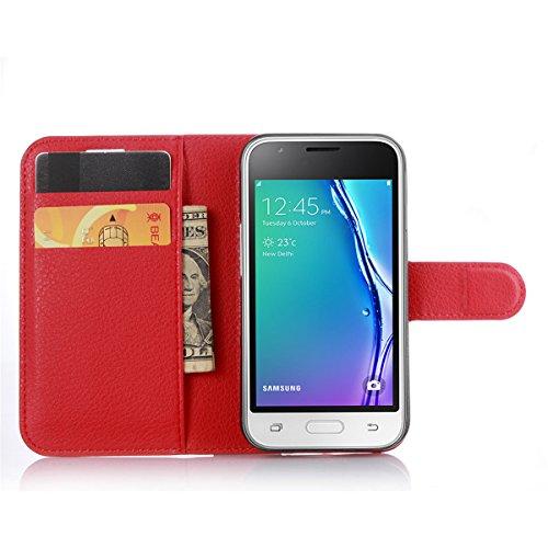 samsung J1 mini handy fall samsung J1 mini hülle samsung J1 mini handytasche wasserdichte brieftasche beschützer 9 farben