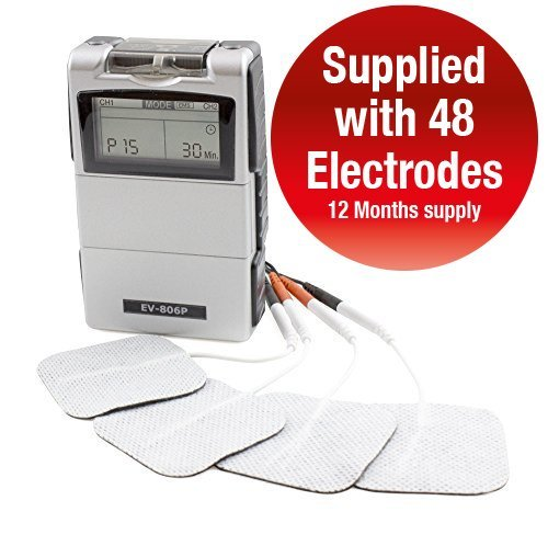 Tens Machine Dual Channel Medfit Easy TENS One Touch Operation