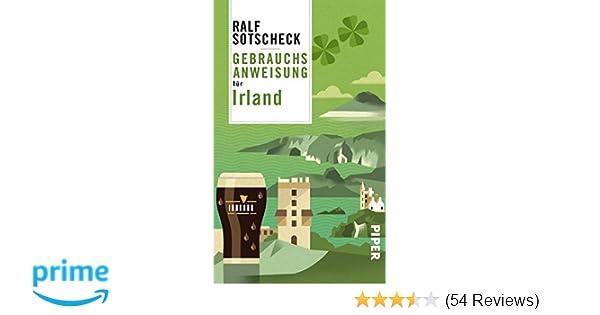 Kühlschrank Irland : Gebrauchsanweisung für irland amazon ralf sotscheck bücher