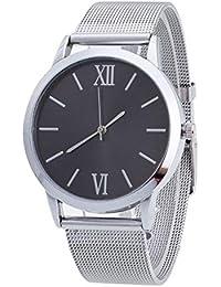 Reloj Mujer Correa de Acero Inoxidable Color Plateado Señoras de Las  Mujeres de Plata de Acero a6f0d8e4796a