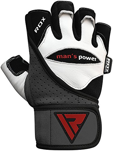 RDX-Weight-Lifting-Gloves-Gym-Crossfit-Workout-Powerlifting-Fitness-Bodybuilding-Leather-Breathable-Strength-Training-Wrist-Support-Exercise