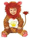 Widmann - Cs805125 - Costume Bebe Lion Combi + Coiffe 90 cm (1/2ans)