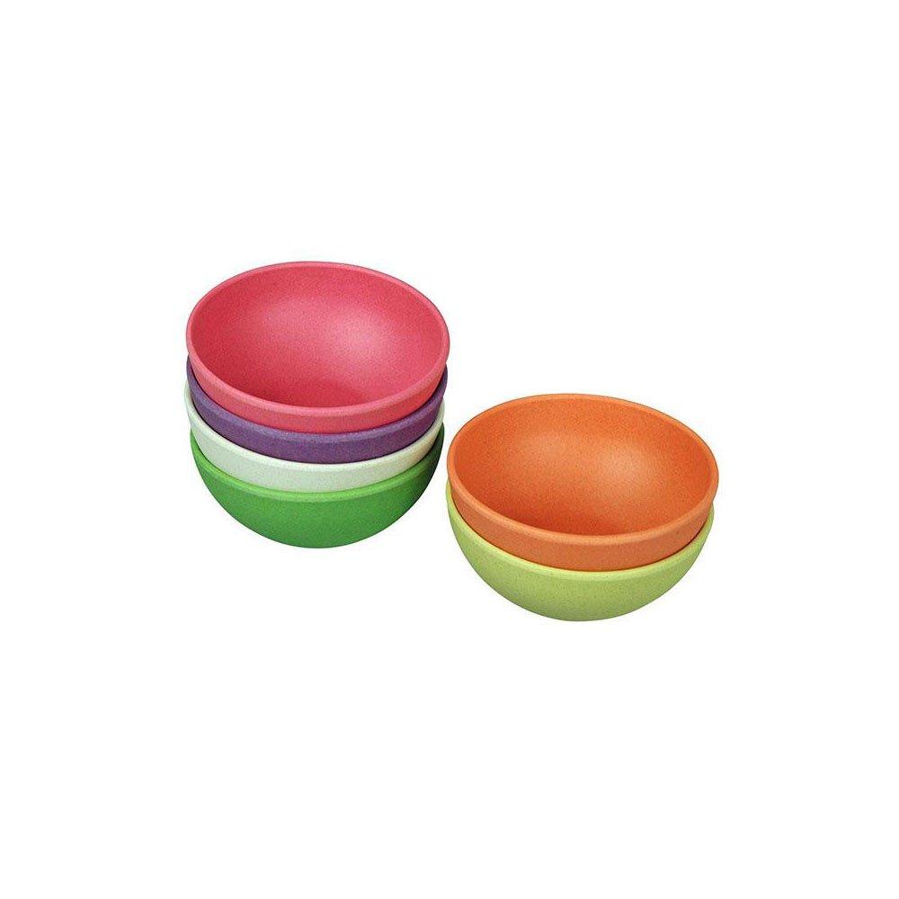 Piccolo Shell 'Tasty Treats' im Set–in fibra di bambù e mais arcobaleno
