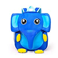 MEGA Children 3D Cartoon Animal Backpack Toddlers Elephant Scoolbag Small Satchel for Kindergarden Kids