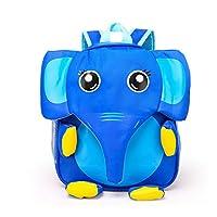MEGA Children 3D Cartoon Animal Backpack Toddlers Elephant Scoolbag Small Satchel for Kindergarden Kids