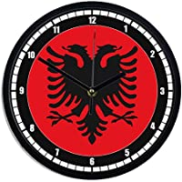 Other Watches Watches, Parts & Accessories Orologio Dello Scrittorio Vacanza Agenzia Viaggi Bandiera Albania