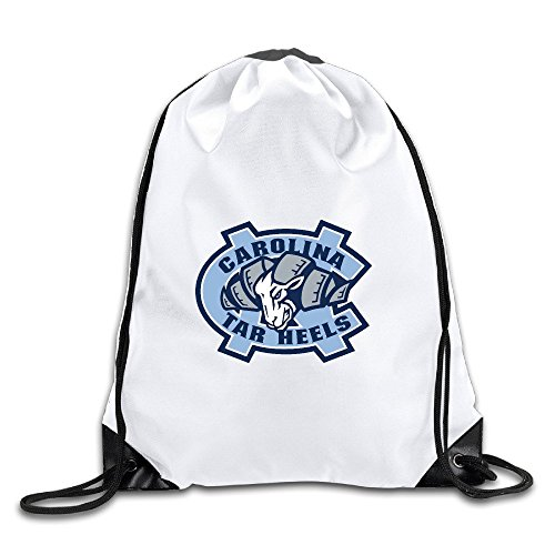 Fashion South Carolina Flagge Karte Kordelzug Rucksack Tasche, North Carolina Tar Heels Logo (Heels Kordelzug)