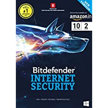 BitDefender Internet Security Latest Version - 10 Users, 2 Years (Activation Key Card)