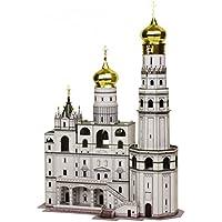 Comparador de precios Keranova keranova326Escala 1: 250, 23x 15x 33cm Clever Papel histórico Edificios Ivan Rejilla de la Torre de Bell 3D Puzzle - precios baratos