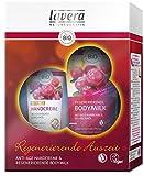 lavera Pflegeset ∙ Regenerierende Bodymilk & Anti-Age Handcreme Cranberry ∙ Kosmetik Set ∙ vegan ✔ Bio Wirkstoffe ✔ Naturkosmetik ✔ Körperpflege Geschenkset 1er Pack (1x2 Stück)