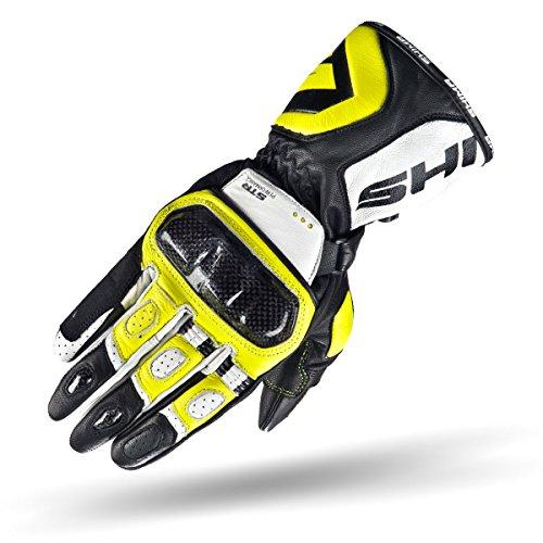 Shima STR, guanti da moto da uomo protettivi, in pelle resistent