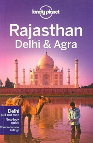 Portada del libro Lonely Planet Rajasthan, Delhi & Agra (Travel Guide) 3rd (third) by Lonely Planet, Brown, Lindsay, Hole, Abigail, McCrohan, Dani (2011) Paperback