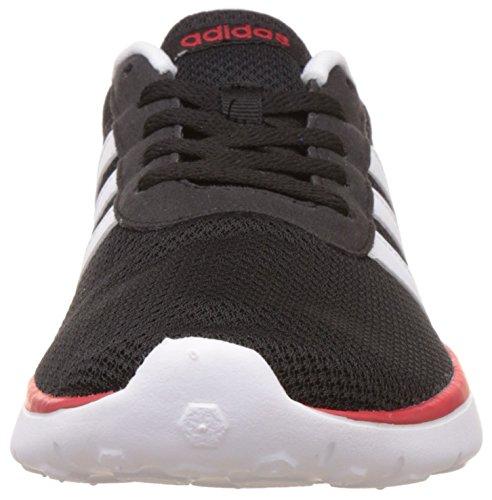 adidas Lite Racer, Chaussures de Tennis Homme Noir (Negbas/ftwbla/escarl)