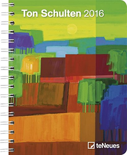 Ton Schulten 2016 - Large Deluxe Diary - Art Diary - 16.5 x 21.6 cm