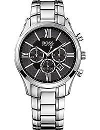 Hugo Boss Herren-Armbanduhr Chronograph Quarz Edelstahl 1513196
