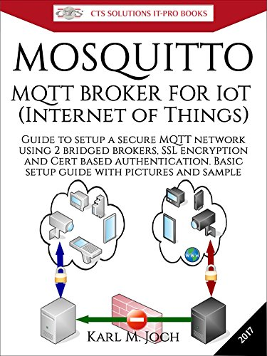 Mosquitto - MQTT Broker for IoT (Internet of Things): Guide to setup a free and secure MQTT network using 2 bridged brokers, SSL encryption and Cert based ... IT-PRO E-Books Book 3) (English Edition) por Karl Joch