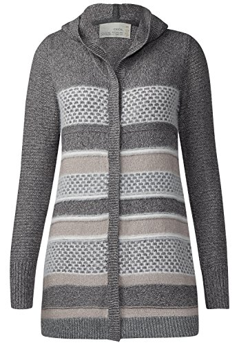 Cecil -  Cardigan  - A righe - Donna Light Powdered Taupe L