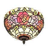 12-Zoll-europäischen frischen Garten-Deckenleuchten Amerikanischer-Art-Lampe 1-Lichter