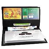 Charmoni® - Pacey Etui Porte chéquier Porte Carte crédit pièce d'identité
