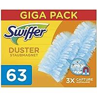 Swiffer Duster Ricariche per Piumino Catturapolvere, 63 Pezzi