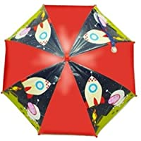 Peppa Pig George Space Dome Umbrella Red Navy