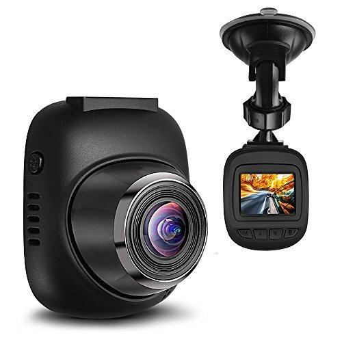 Dash Camera Small Eye Mini Dashcam für Autos Full HD 1080P Armaturenbrett Kamera mit 6 Objektiven, G-Sensor, Loop-Aufnahme, Bewegungserkennung Autokamera