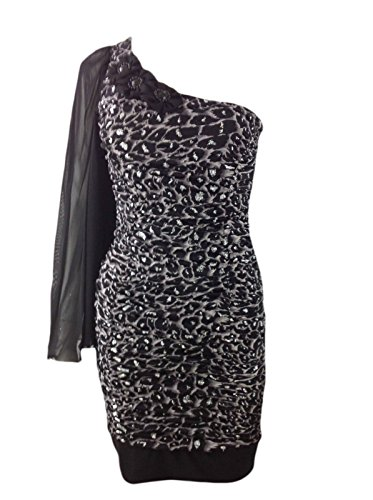 Generic Damen Kleid Braun - Animal Print