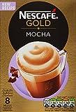 NESCAFÉ Gold Mocha, 8 Sachets, 176g (Pack of 6, Total 48 sachets)