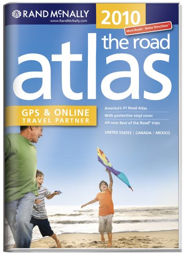 Online Travel Partner United States, Canada, Mexico (Rand Mcnally Road Atlas United States/ Canada/Mexico (Vinyl Covered Edition)) ()